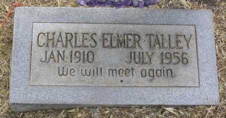 TALLEY, CHARLES ELMER - Yavapai County, Arizona   CHARLES ELMER TALLEY - Arizona Gravestone Photos