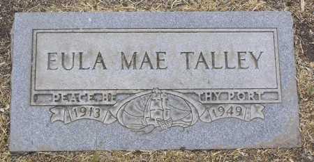 TALLEY, EULA MAE - Yavapai County, Arizona | EULA MAE TALLEY - Arizona Gravestone Photos