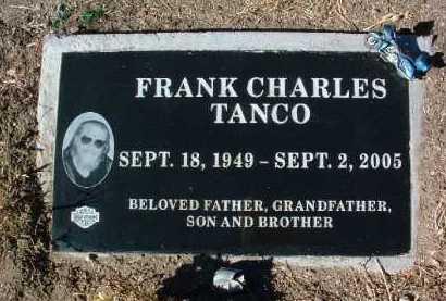 TANCO, FRANK CHARLES - Yavapai County, Arizona | FRANK CHARLES TANCO - Arizona Gravestone Photos