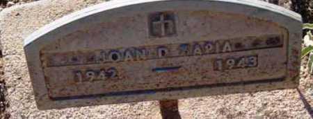 TAPIA, JOAN D. - Yavapai County, Arizona | JOAN D. TAPIA - Arizona Gravestone Photos