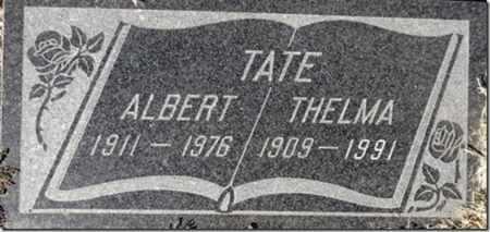 TATE, ALBERT E. - Yavapai County, Arizona | ALBERT E. TATE - Arizona Gravestone Photos