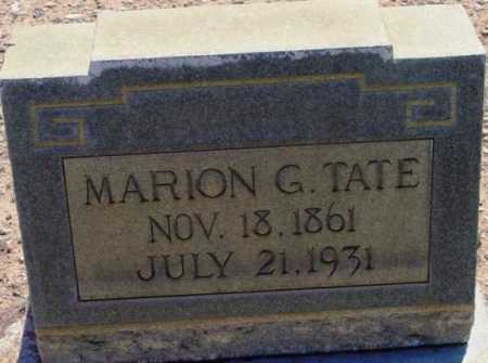 TATE, MARION GORDON - Yavapai County, Arizona | MARION GORDON TATE - Arizona Gravestone Photos