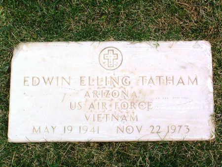 TATHAM, EDWIN ELLING - Yavapai County, Arizona   EDWIN ELLING TATHAM - Arizona Gravestone Photos