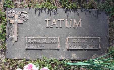 TATUM, JOHN M., SR. - Yavapai County, Arizona | JOHN M., SR. TATUM - Arizona Gravestone Photos