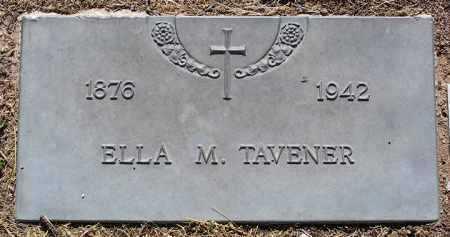 MORRELL TAVENER, ELLA - Yavapai County, Arizona | ELLA MORRELL TAVENER - Arizona Gravestone Photos
