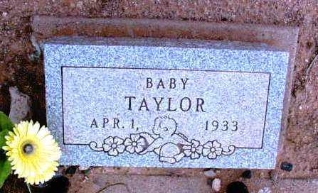 TAYLOR, BABY - Yavapai County, Arizona | BABY TAYLOR - Arizona Gravestone Photos