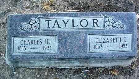 TAYLOR, ELIZABETH EMILY - Yavapai County, Arizona | ELIZABETH EMILY TAYLOR - Arizona Gravestone Photos