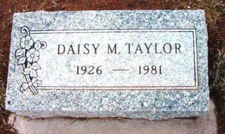 TAYLOR, DAISY M. - Yavapai County, Arizona   DAISY M. TAYLOR - Arizona Gravestone Photos