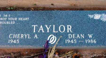TAYLOR, DEAN W. - Yavapai County, Arizona | DEAN W. TAYLOR - Arizona Gravestone Photos