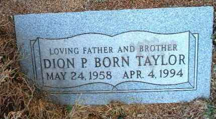 TAYLOR, DION PATRICK BORN - Yavapai County, Arizona | DION PATRICK BORN TAYLOR - Arizona Gravestone Photos