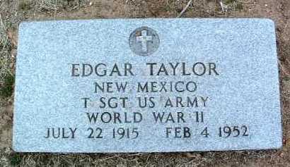 TAYLOR, EDGAR - Yavapai County, Arizona   EDGAR TAYLOR - Arizona Gravestone Photos