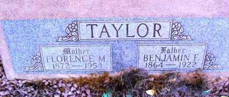 TAYLOR, BENJAMIN FRANKLIN - Yavapai County, Arizona | BENJAMIN FRANKLIN TAYLOR - Arizona Gravestone Photos