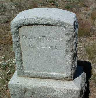 TAYLOR, FRANKIE  (NELLIE F.) - Yavapai County, Arizona | FRANKIE  (NELLIE F.) TAYLOR - Arizona Gravestone Photos