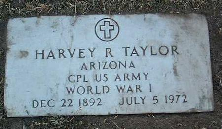 TAYLOR, HARVEY RAY - Yavapai County, Arizona | HARVEY RAY TAYLOR - Arizona Gravestone Photos