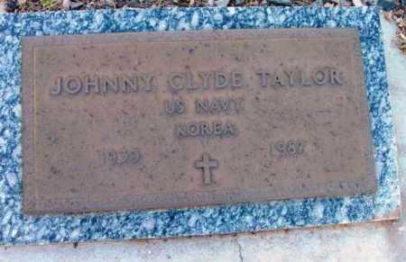 TAYLOR, JOHNNY CLYDE - Yavapai County, Arizona   JOHNNY CLYDE TAYLOR - Arizona Gravestone Photos