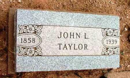 TAYLOR, JOHN L. - Yavapai County, Arizona | JOHN L. TAYLOR - Arizona Gravestone Photos
