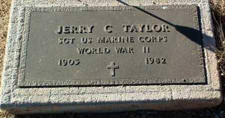 TAYLOR, JERRY C. - Yavapai County, Arizona | JERRY C. TAYLOR - Arizona Gravestone Photos
