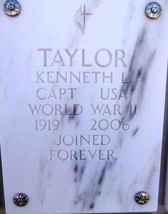 TAYLOR, KENNETH L. - Yavapai County, Arizona | KENNETH L. TAYLOR - Arizona Gravestone Photos