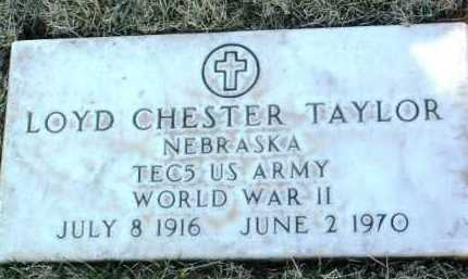 TAYLOR, LOYD CHESTER - Yavapai County, Arizona   LOYD CHESTER TAYLOR - Arizona Gravestone Photos