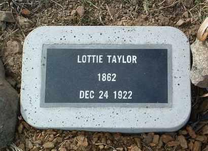 TAYLOR, LOTTIE - Yavapai County, Arizona | LOTTIE TAYLOR - Arizona Gravestone Photos