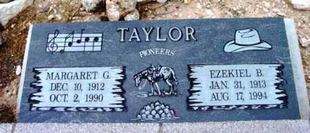 TAYLOR, MARGARET G. - Yavapai County, Arizona   MARGARET G. TAYLOR - Arizona Gravestone Photos