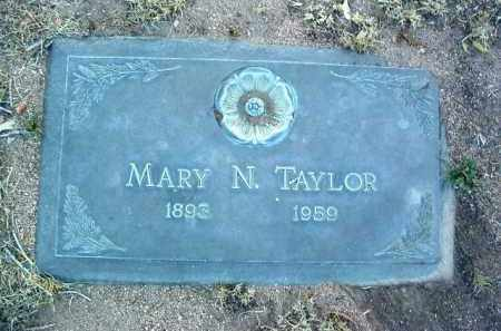 TAYLOR, MARY N. - Yavapai County, Arizona | MARY N. TAYLOR - Arizona Gravestone Photos