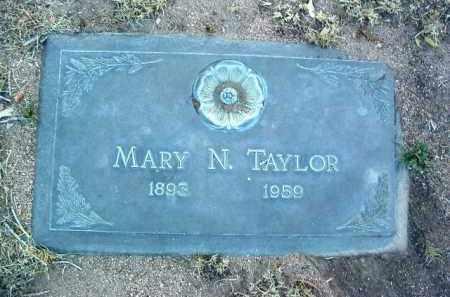 TAYLOR, MARY N. - Yavapai County, Arizona | MARY N. TAYLOR - Arizona Gravestone Photos
