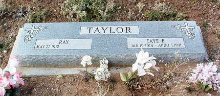 TAYLOR, RAY R. - Yavapai County, Arizona | RAY R. TAYLOR - Arizona Gravestone Photos