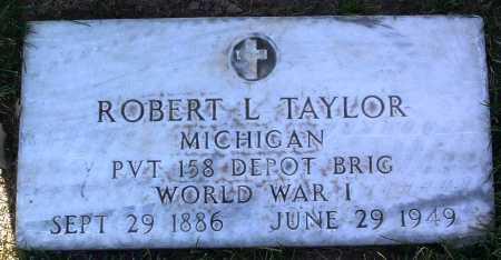 TAYLOR, ROBERT L. - Yavapai County, Arizona   ROBERT L. TAYLOR - Arizona Gravestone Photos