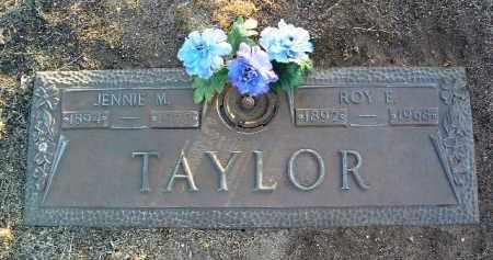TAYLOR, JENNIE MARGARET - Yavapai County, Arizona | JENNIE MARGARET TAYLOR - Arizona Gravestone Photos