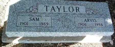 TAYLOR, ARVIS - Yavapai County, Arizona | ARVIS TAYLOR - Arizona Gravestone Photos