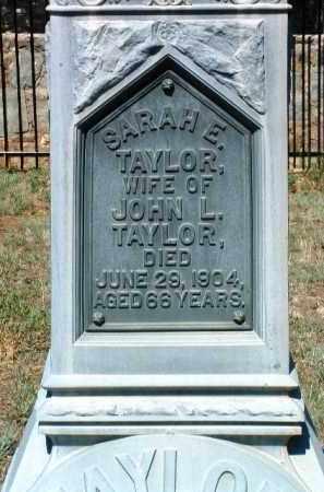TAYLOR, SARAH E. - Yavapai County, Arizona | SARAH E. TAYLOR - Arizona Gravestone Photos