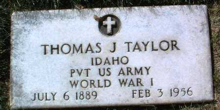 TAYLOR, THOMAS JEROME - Yavapai County, Arizona | THOMAS JEROME TAYLOR - Arizona Gravestone Photos