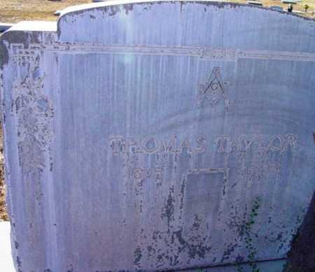 TAYLOR, THOMAS - Yavapai County, Arizona | THOMAS TAYLOR - Arizona Gravestone Photos