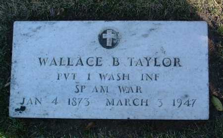 TAYLOR, WALLACE B. - Yavapai County, Arizona   WALLACE B. TAYLOR - Arizona Gravestone Photos