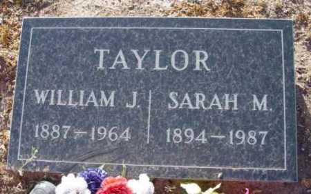 TAYLOR, WILLIAM J. - Yavapai County, Arizona | WILLIAM J. TAYLOR - Arizona Gravestone Photos