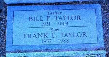 TAYLOR, FRANK E. - Yavapai County, Arizona | FRANK E. TAYLOR - Arizona Gravestone Photos