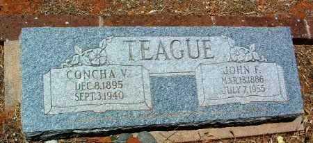 TEAGUE, JOHN FRANKLIN - Yavapai County, Arizona | JOHN FRANKLIN TEAGUE - Arizona Gravestone Photos