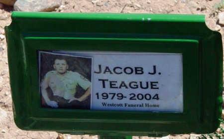 TEAGUE, JACOB J. (JAKE) - Yavapai County, Arizona   JACOB J. (JAKE) TEAGUE - Arizona Gravestone Photos