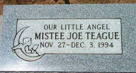 TEAGUE, MISTEE JOE - Yavapai County, Arizona | MISTEE JOE TEAGUE - Arizona Gravestone Photos