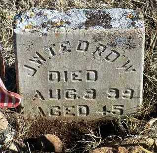 TEDROW, JOHN WILSON - Yavapai County, Arizona | JOHN WILSON TEDROW - Arizona Gravestone Photos