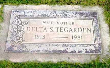 TEGARDEN, DELTA S. - Yavapai County, Arizona | DELTA S. TEGARDEN - Arizona Gravestone Photos