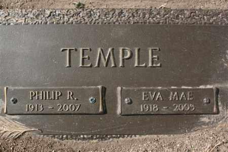 DOBINS TEMPLE, EVA MAE - Yavapai County, Arizona | EVA MAE DOBINS TEMPLE - Arizona Gravestone Photos
