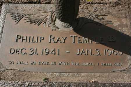 TEMPLE, PHILIP RAY, JR. - Yavapai County, Arizona | PHILIP RAY, JR. TEMPLE - Arizona Gravestone Photos