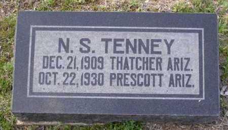 TENNEY, N. S. - Yavapai County, Arizona   N. S. TENNEY - Arizona Gravestone Photos
