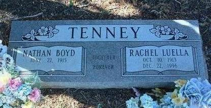 TEEPLES TENNEY, RACHEL L. - Yavapai County, Arizona | RACHEL L. TEEPLES TENNEY - Arizona Gravestone Photos