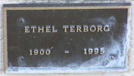 TERBORG, ETHEL - Yavapai County, Arizona   ETHEL TERBORG - Arizona Gravestone Photos
