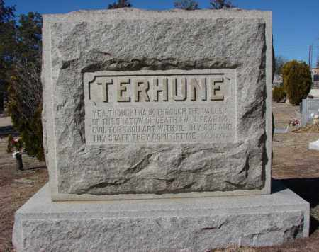 TERHUNE, FAMILY HEADSTONE - Yavapai County, Arizona | FAMILY HEADSTONE TERHUNE - Arizona Gravestone Photos