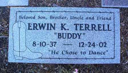 TERRELL, ERWIN K. (BUDDY) - Yavapai County, Arizona | ERWIN K. (BUDDY) TERRELL - Arizona Gravestone Photos