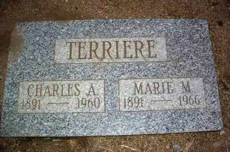 TERRIERE, CHARLES ALBERT - Yavapai County, Arizona | CHARLES ALBERT TERRIERE - Arizona Gravestone Photos